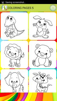 Animals Baby Kids Coloring apk screenshot