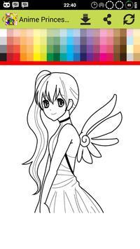 Anime Princess Coloring screenshot 4
