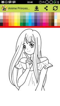 Anime Princess Coloring screenshot 5