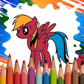 Little Pony Coloring Pages icon
