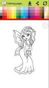 Princess Libby Coloring Book apk screenshot