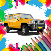 Car Coloring Pages Pro icon