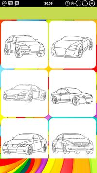 Car Coloring Pages Pro screenshot 1