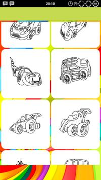 Car Coloring Pages Pro screenshot 2