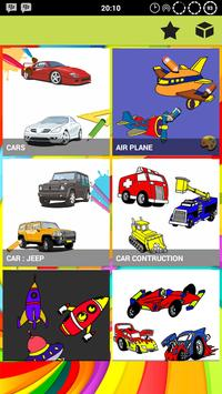 Car Coloring Pages Plus poster