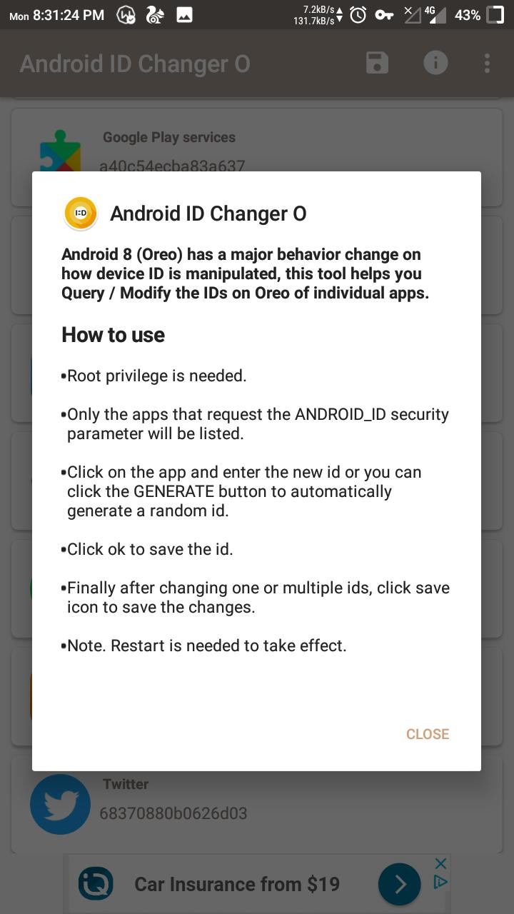 Android Deivce ID Changer Oreo for Android - APK Download