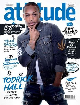 Attitude Magazine poster