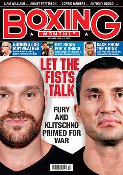 Boxing Monthly Magazine poster