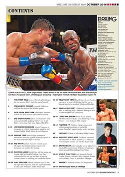 Boxing Monthly Magazine apk screenshot