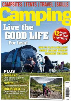 Camping Magazine poster