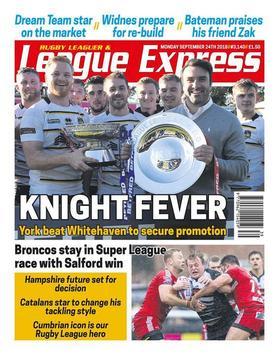 League Express poster
