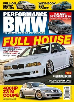 Performance BMW poster