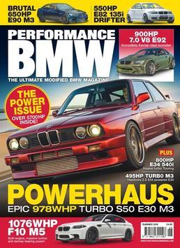 Performance BMW poster