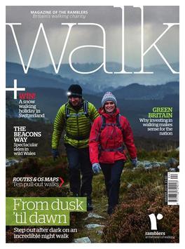 Walk magazine poster