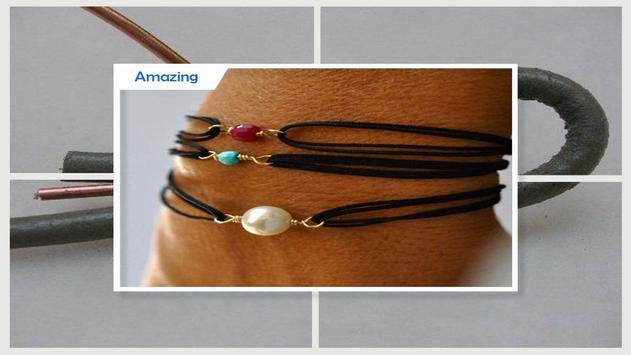 Cool DIY Leather Necklace Tutorial screenshot 4