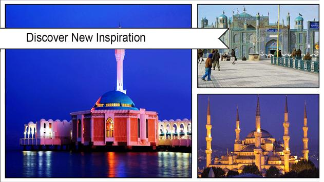 Blue Mosque Live Wallpaper screenshot 1
