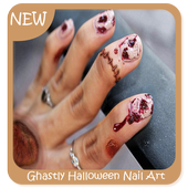Ghastly Halloween Nail Art icon