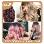 Shiny Geode Hair Color Ideas icon