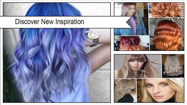 Shiny Geode Hair Color Ideas screenshot 1