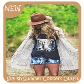 Stylish Summer Concert Outfit Ideas icon