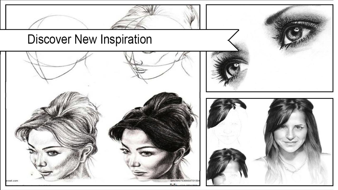 Easy pencil sketch tutorial poster easy pencil sketch tutorial screenshot 1