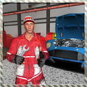 Real Car Mechanic Workshop Sim icon