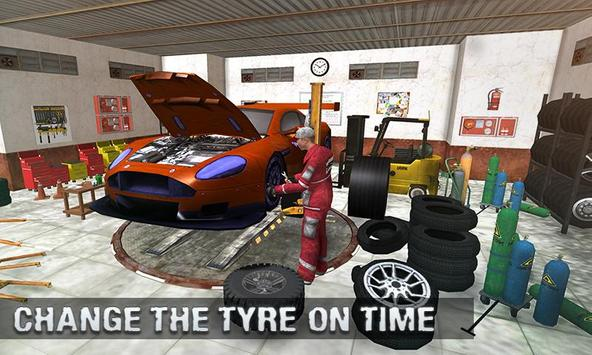 Real Car Mechanic Workshop Sim poster