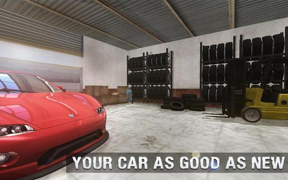 Real Car Mechanic Workshop Sim screenshot 14