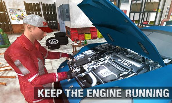 Real Car Mechanic Workshop Sim screenshot 1