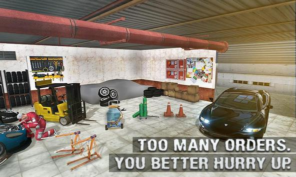 Real Car Mechanic Workshop Sim screenshot 3
