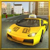 Amazing Taxi Driving Sim 2017 icon