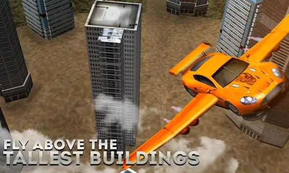 Flying Car Free Racing Sim 3D poster