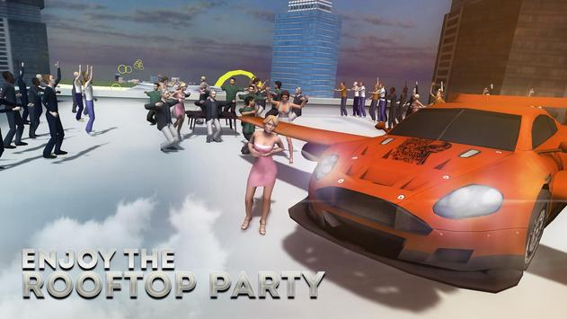 Flying Car Free Racing Sim 3D apk screenshot