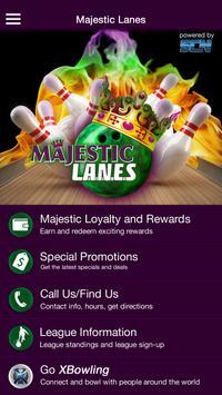 Majestic Lanes Bowling poster