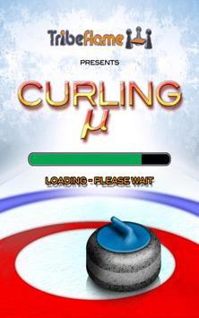 Curling Micro poster