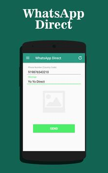 Direct Chat for WhatsApp poster