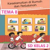 BSE SD kelas 2 tema 8 icon