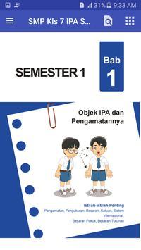 BSE SMP kelas 7 IPA sem 1 screenshot 1