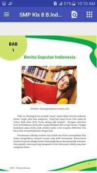 BSE SMP kelas 8 Bhs indonesia screenshot 1