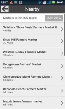Fresh Food Finder screenshot 1