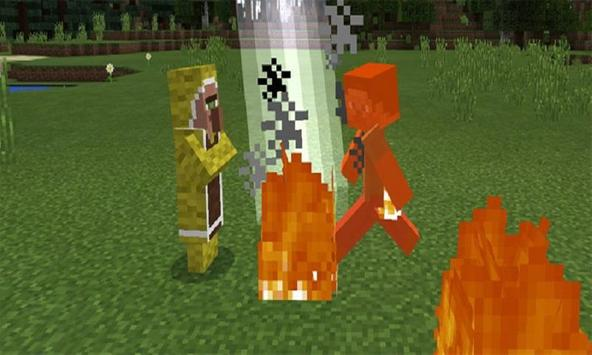 Elemental mobs mod for MCPE poster