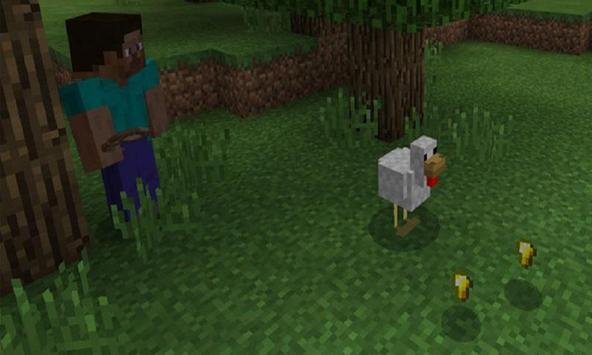 Golden Chicken Mod for MCPE poster
