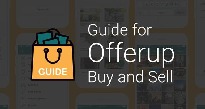 Guide for Offerup Buy and Sell poster