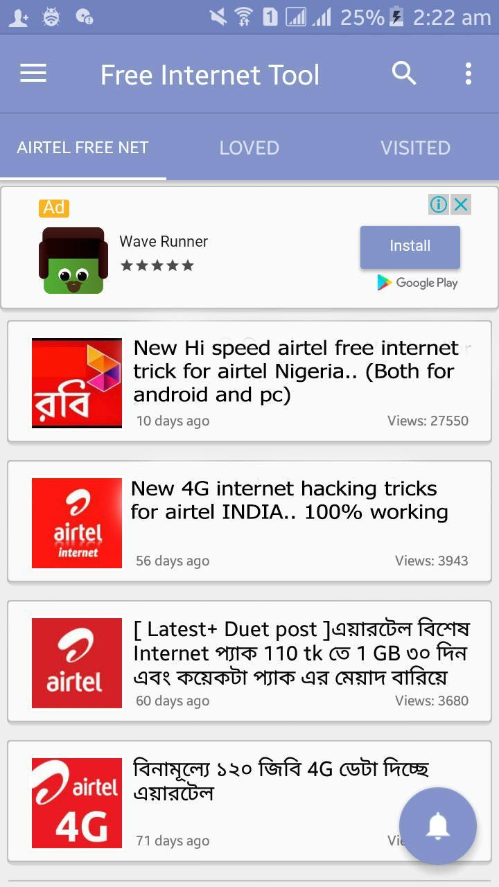 Free Internet Tool for Android - APK Download