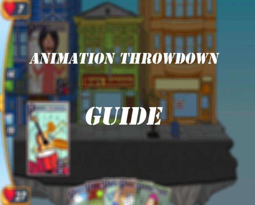 animation throwdown mod apk 2019