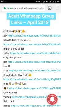 Android için Whatsapp Group Links - Adult Whatsapp Group Links - APK