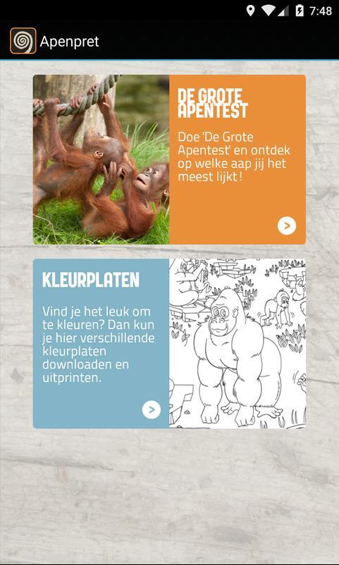 Kleurplaten Apenheul.Apenheul For Android Apk Download