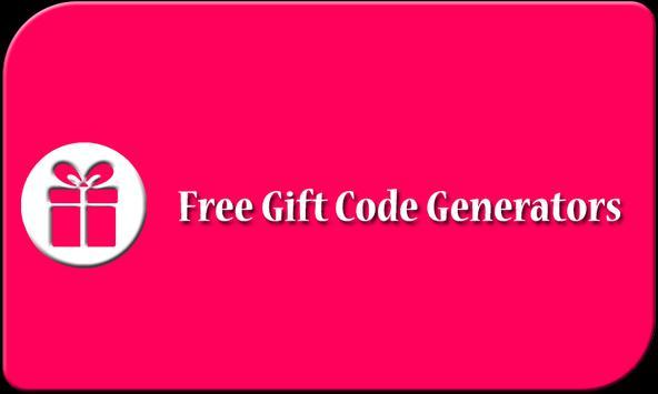 Free Gift Card Generator apk screenshot
