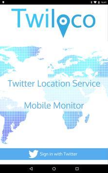 Twiloco Mobile Monitor poster