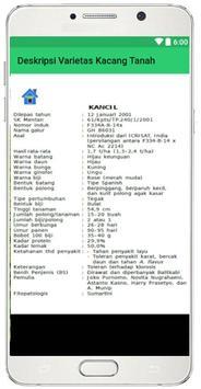 Deskripsi Varietas Unggul Kacang Tanah apk screenshot